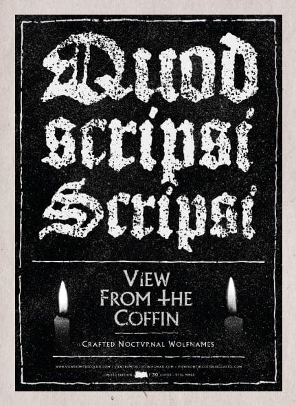 Image of Quod Scripsi, Scripsi.