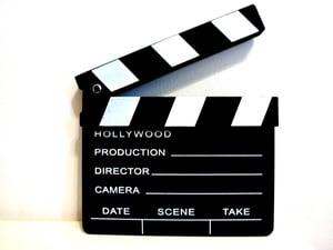 director's clapper board