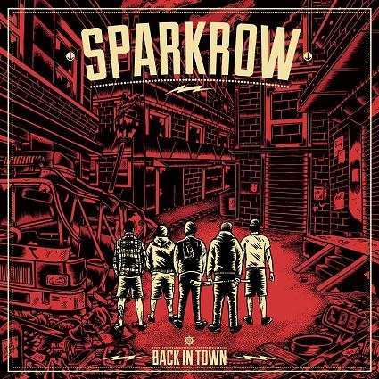 "Image of Sparkrow ""Back In Town"" 12"" vinyl EP"