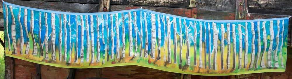 Image of Aspen Trees Print