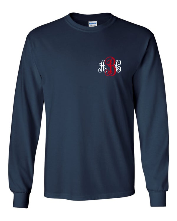 Image of Monogrammed Hawk Tee