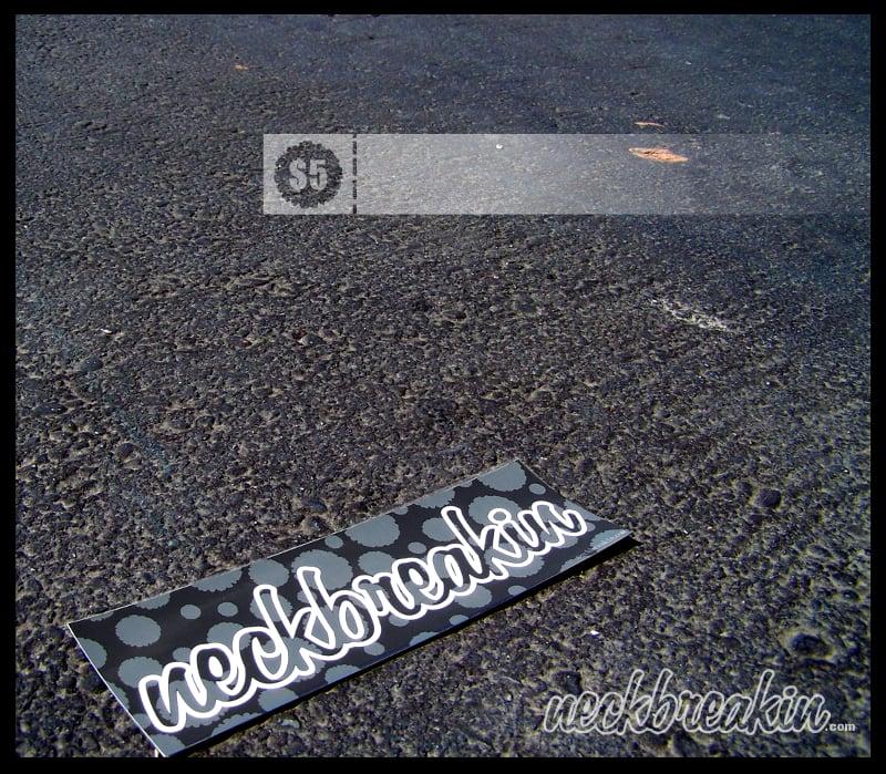 Image of MV1 Bumper Sticker.