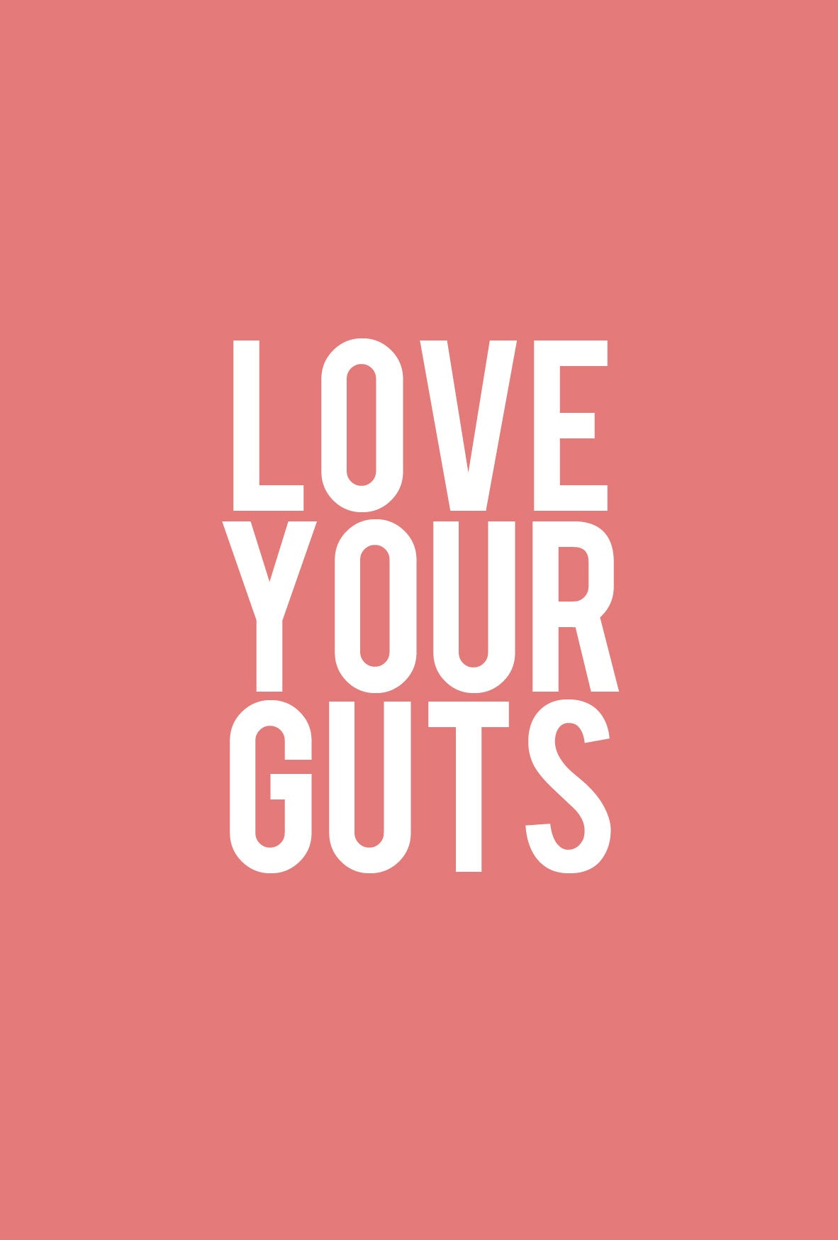 Image of love your guts