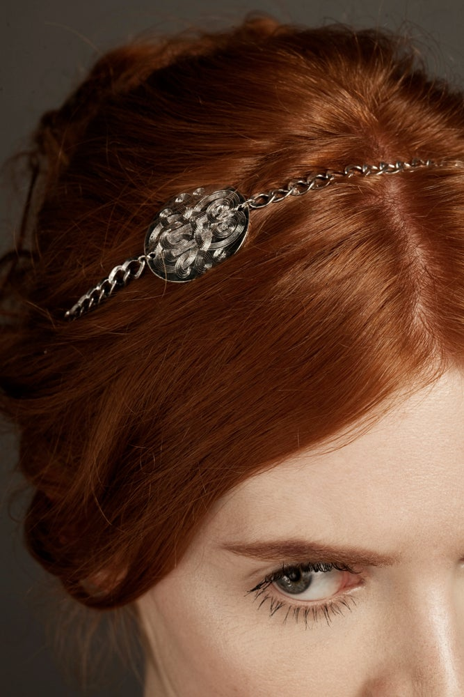 Image of REINE DES NEIGES Bijou de tête/Hair Jewellery