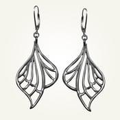 Image of Libellule Earrings, Sterling Silver