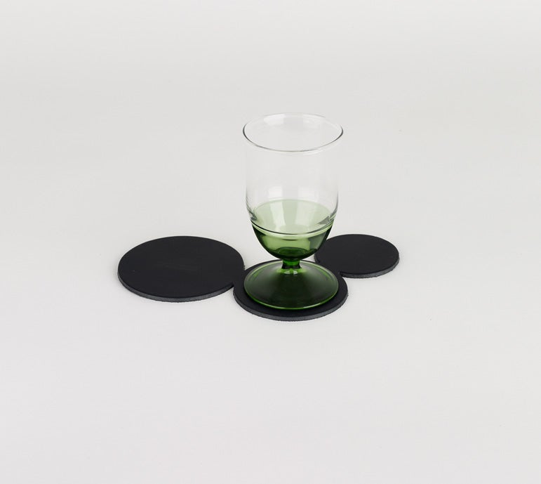 Image of In Vino Veritas Coaster - 3 Circles