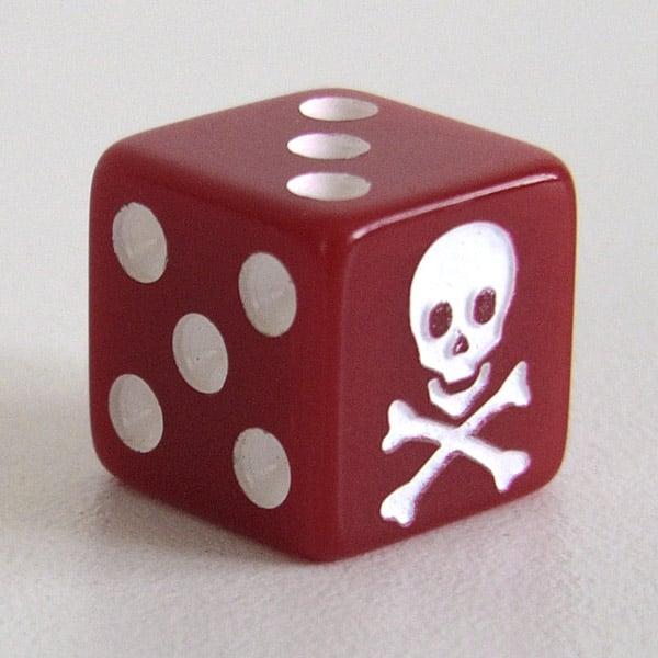 Image of Extra Skull Die