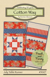 Image of July - Fresh and Fancy Paper Pattern #5007