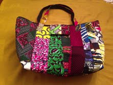 Image of African Tote