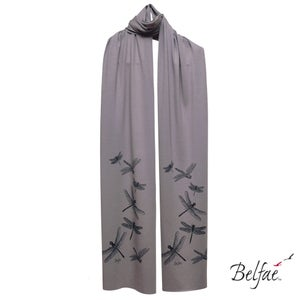 Image of Rafter bamboo jersey scarf
