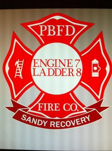 Image of PBFD Sandy Recovery Tee Shirts