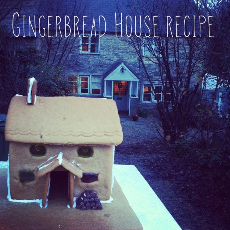Image of Bradshaw & Sons Gingerbread Recipe & Template
