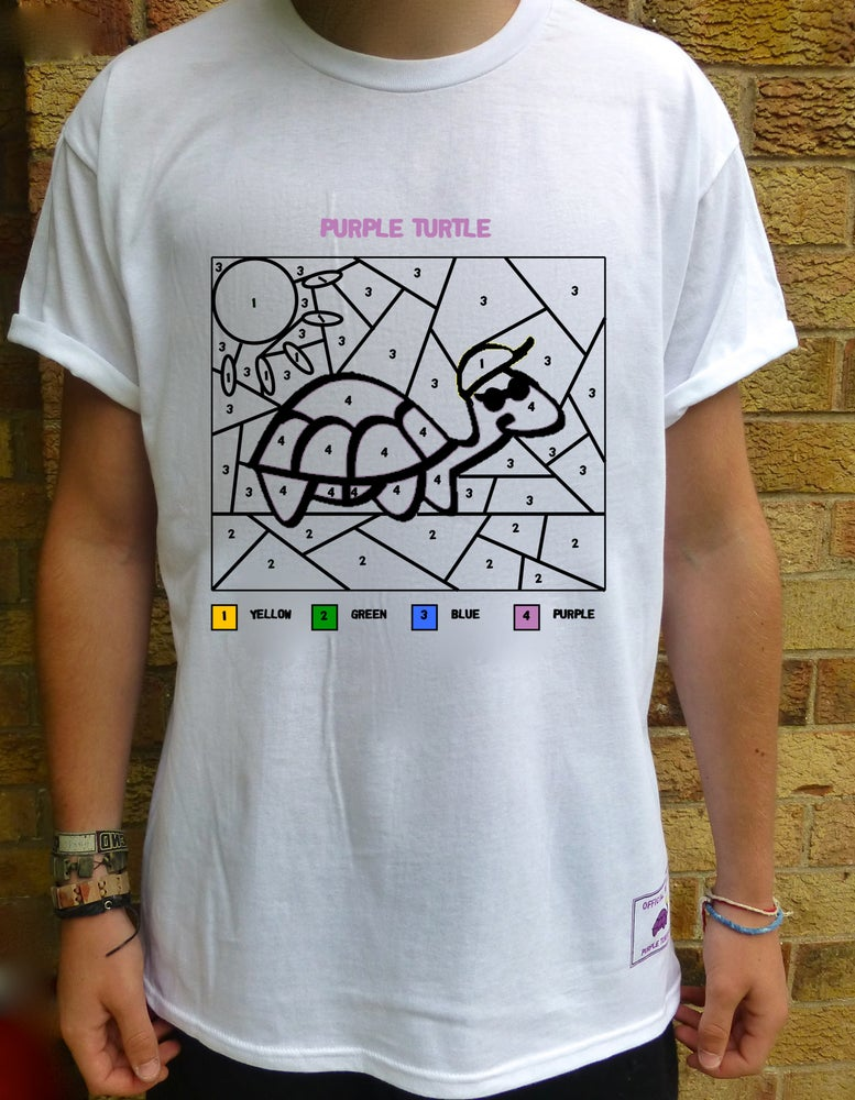 Image of The Paint By Numbers Tee