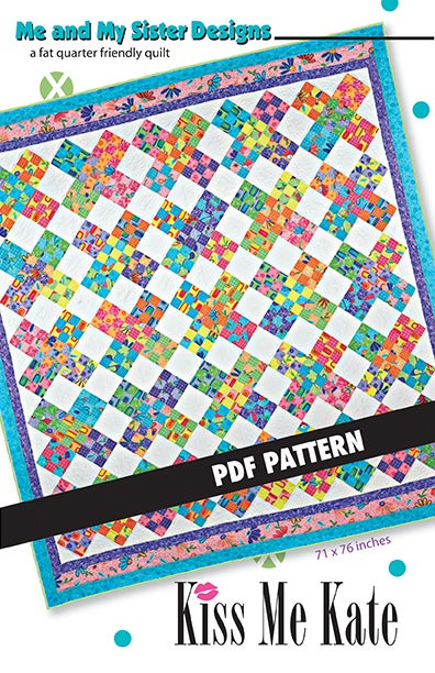 Image of Kiss Me Kate PDF pattern