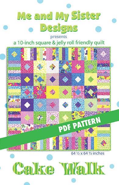 Image of Cake Walk PDF pattern