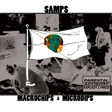 "Image of THE SAMPS ""Macrochips & Microdips"" CD"
