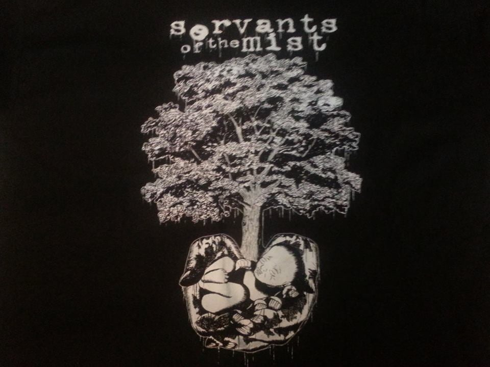 Image of Servants of the Mist - Gestation Tree Tee