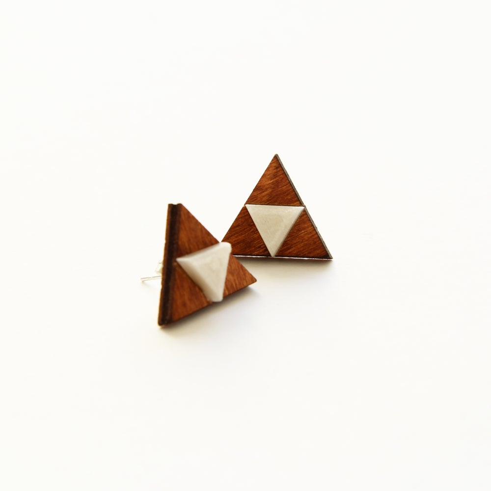 Image of Zelda stud earrings