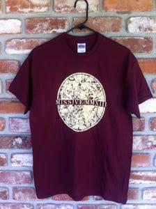 Image of Missive Maroon Circle Shirt