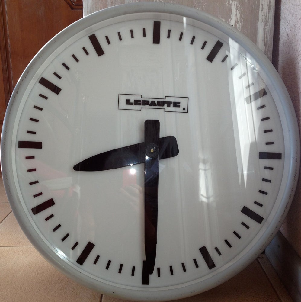 Image of Horloges d'usine Lepaute Ø 65 cm