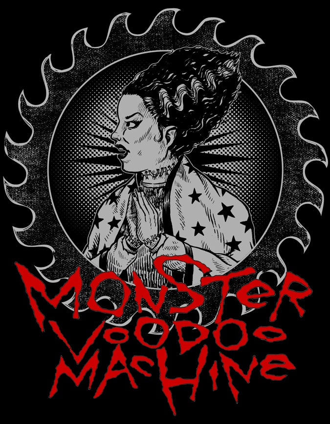 Monster Voodoo Machine 'Rise Demon Rise' 2013 T-Shirt