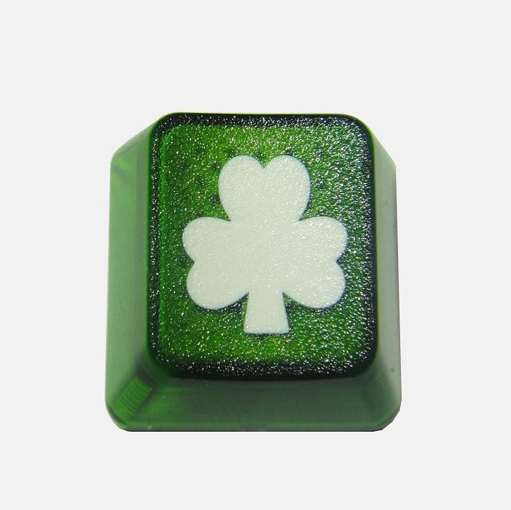 Image of Translucent Shamrock Keycap