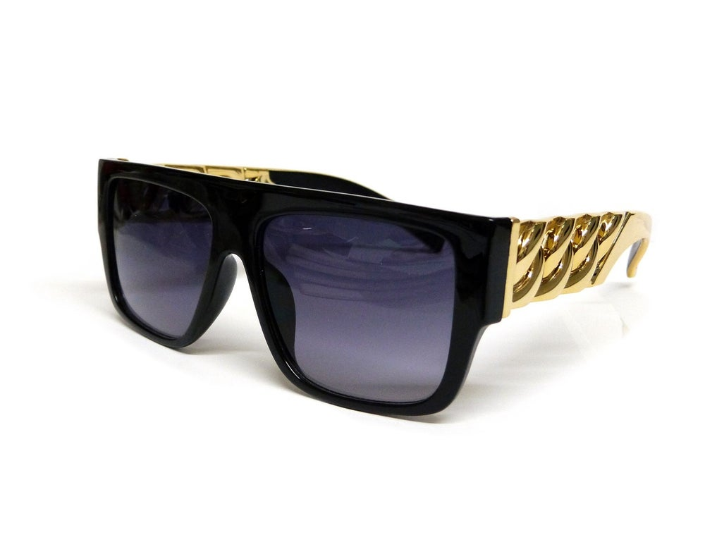 Image of Pre Order Gold Glam Sunglasses