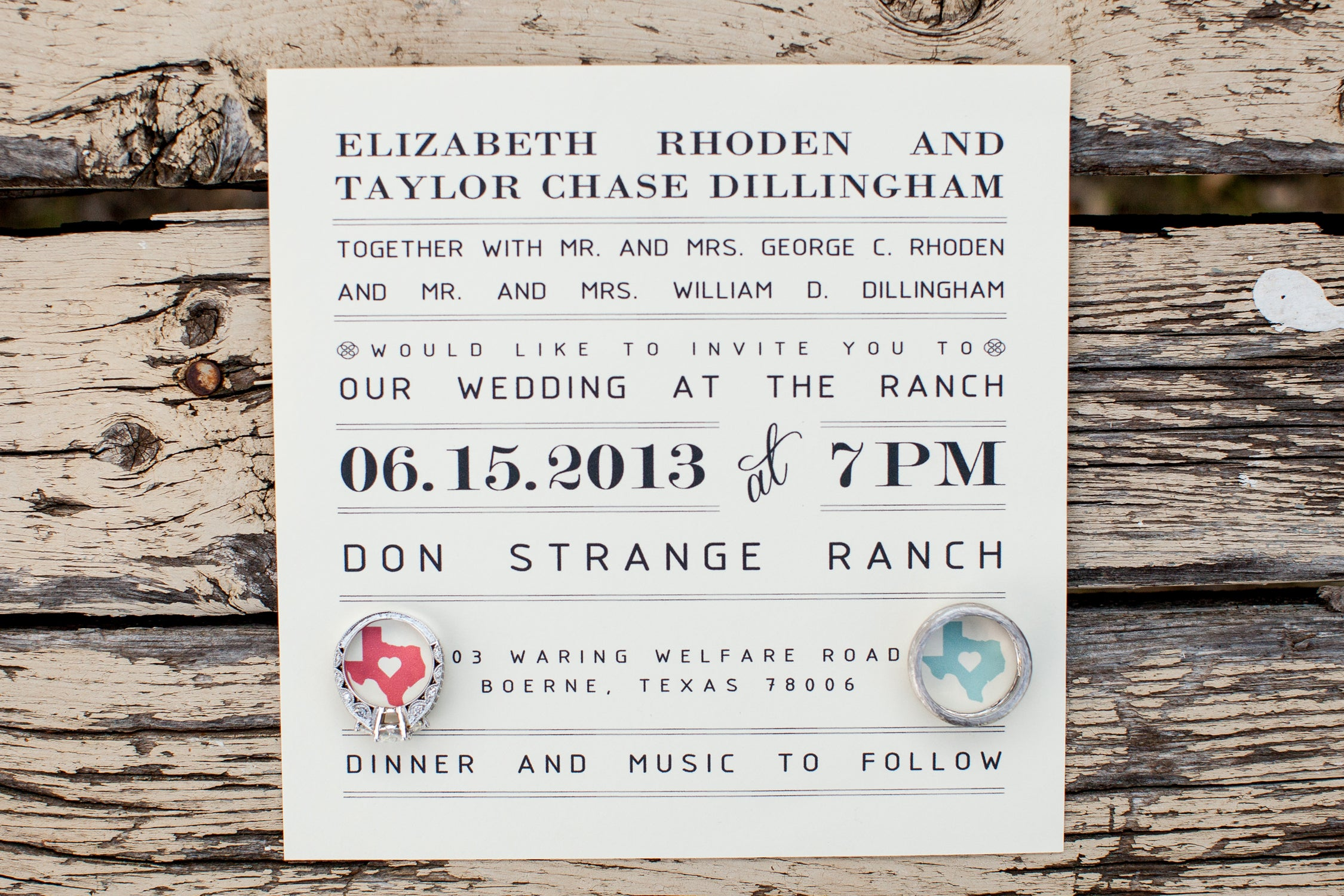 Coral And Teal Wedding Invitations: Wedding Invitation // Coral And Teal // Hearts