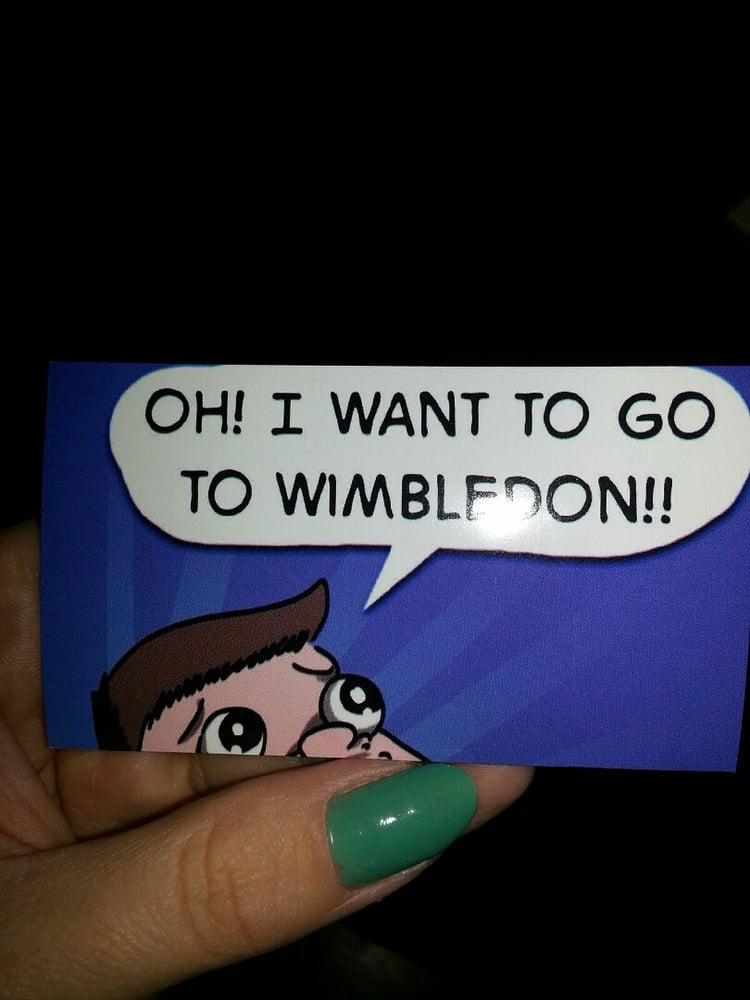 Image of Wimbledon magnet