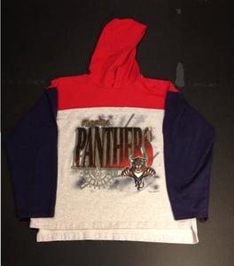 Image of vintage panthers hoodie