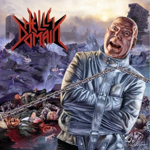 "Image of Hell's Domain ""Hell's Domain"" Cd"
