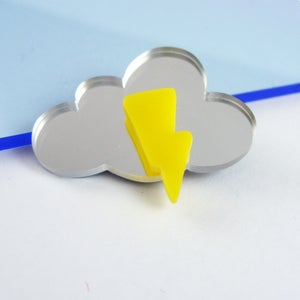 Image of Little cloud brooch