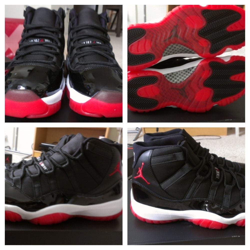 Brand New Jordan Bred 11s   Hawaii Kicks 00d042b06