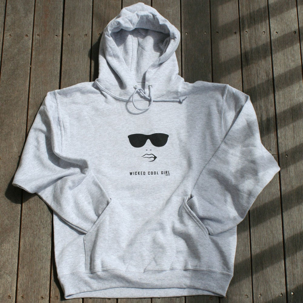 Image of Womens Classic Hooded Sweatshirt