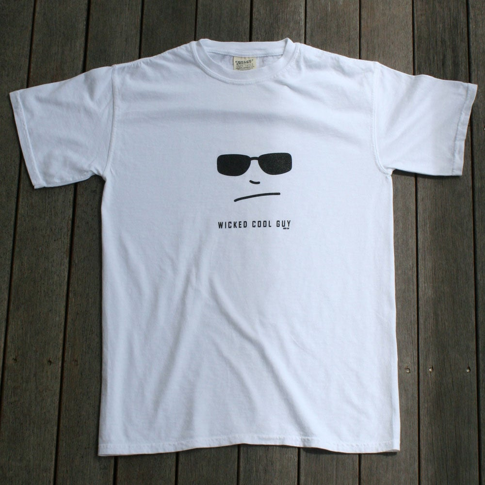 Image of Mens White Classic Tee