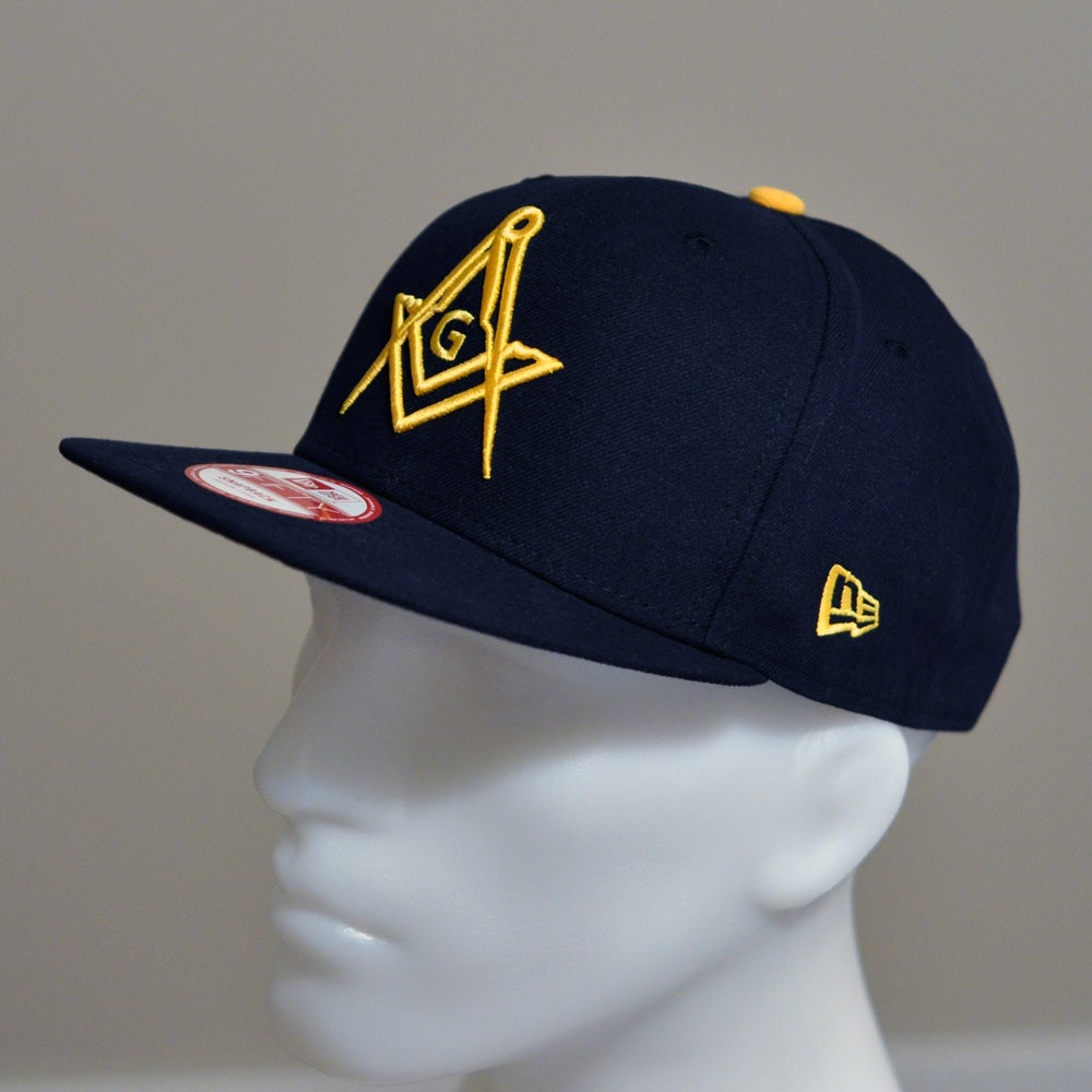 Image of New Dark Navy Snap-Back