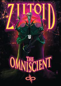 Image of Ziltoid the Omniscient print