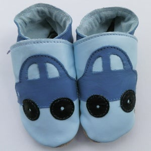 Image of Cars Leather Baby Shoes