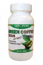 San Francisco Tea Green Coffee Bean Extract 800 Mg 60 Capsules
