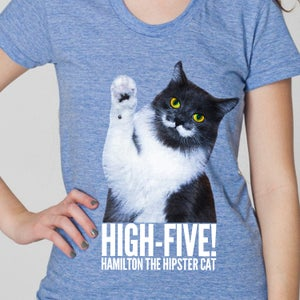 Image of High-Five Hammy! Women's Tee