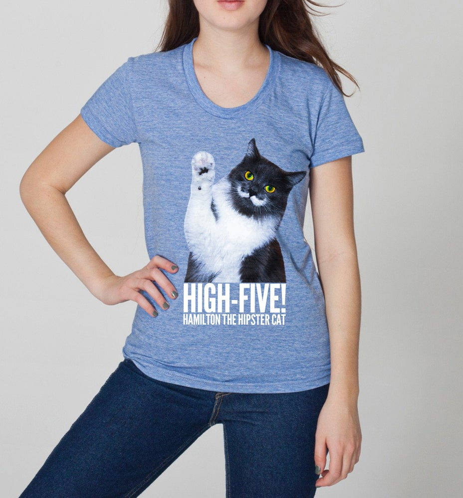 Image of High-Five Hammy! Women's Tee