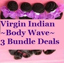 Image of Virgin Indian Body Wave 3 Bundle Deals