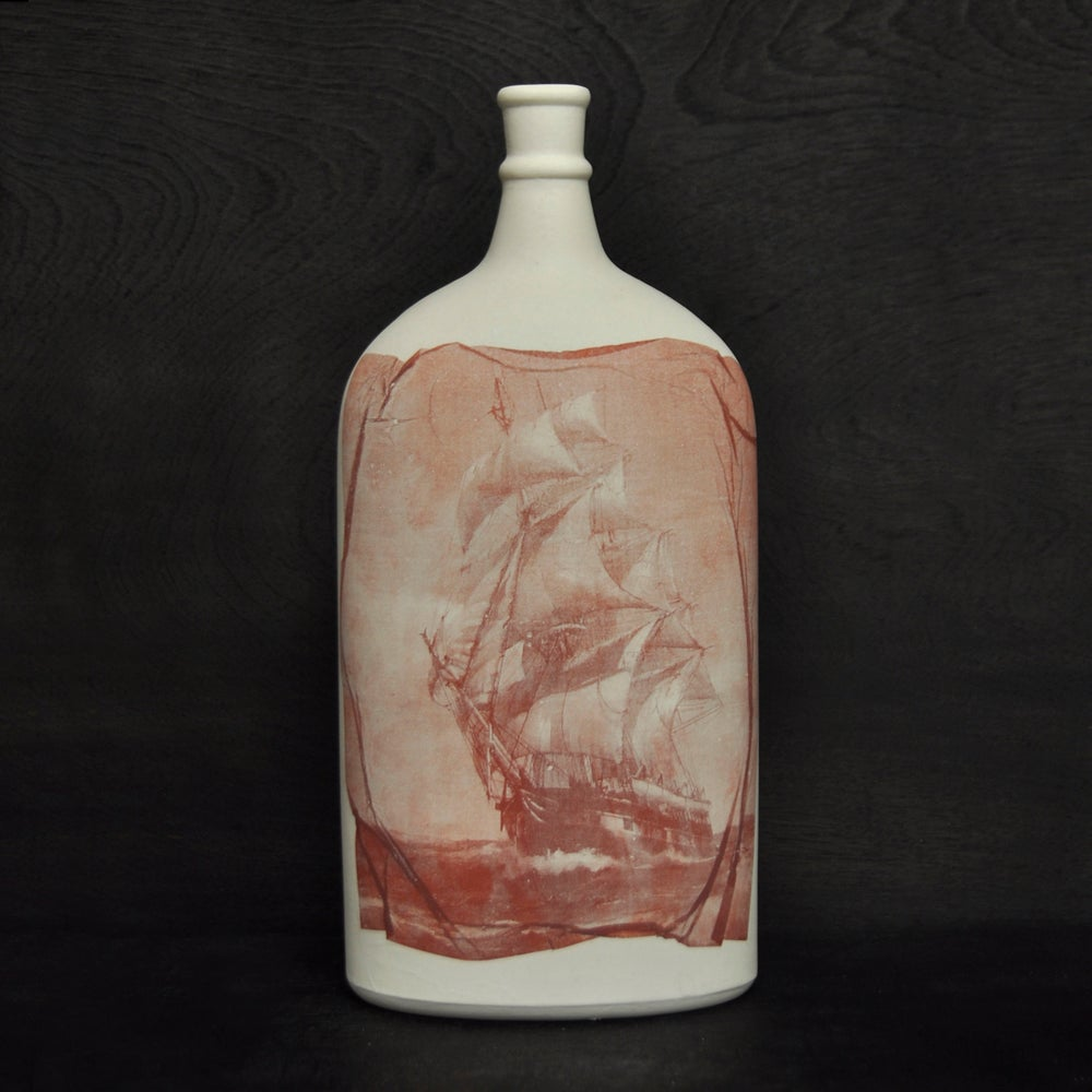 Image of Wooden ships bottle