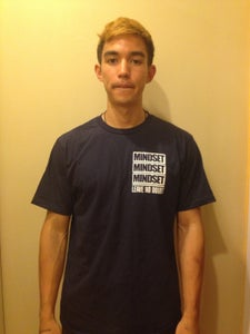 "Image of ""Alive Inside"" Navy T-Shirt"