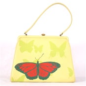 Image of Light Yellow Mini with Sea Turtle and Butterfly