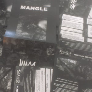 "Image of Bite Down/ Mangle - split 7"""