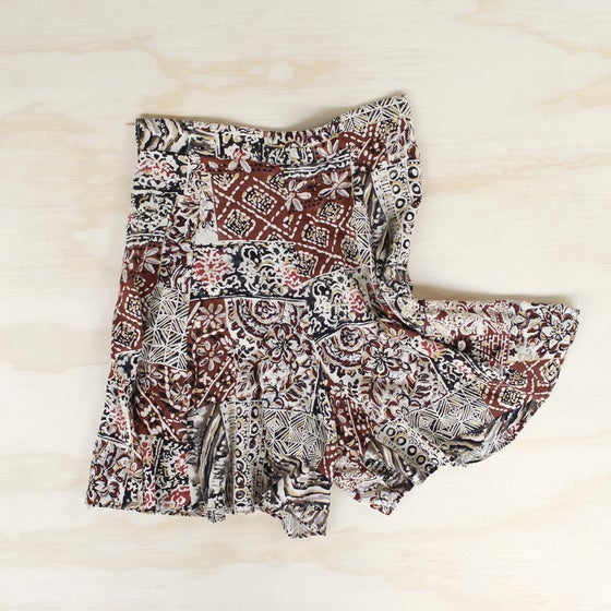 Image of graphic print shorts