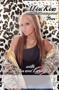 """Image of Miss Kisa """"Underrated Underground"""" Tour Poster"""