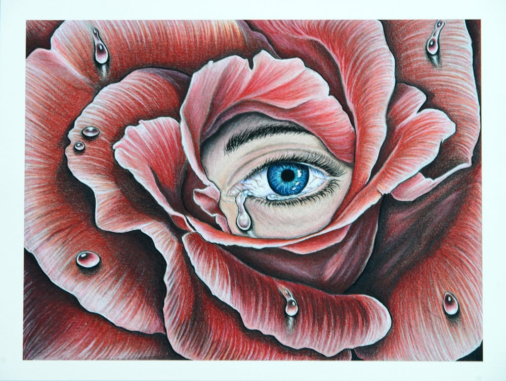 """Image of """"HIDING MY FEELINGS FOR YOU"""" PRINT"""