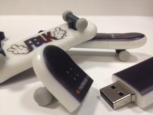 Image of FBUK 1GB Skateboard USB Memory Stick